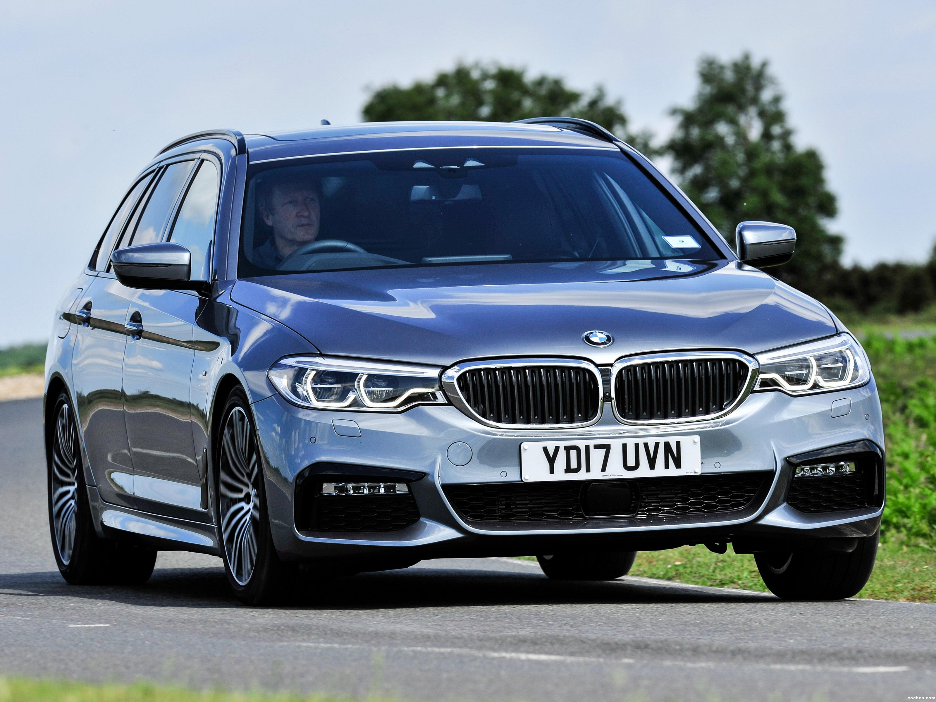 Foto 0 de BMW Serie 5 Touring 520d M Sport UK 2017