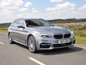 Ver foto 9 de BMW Serie 5 Touring 520d M Sport UK 2017