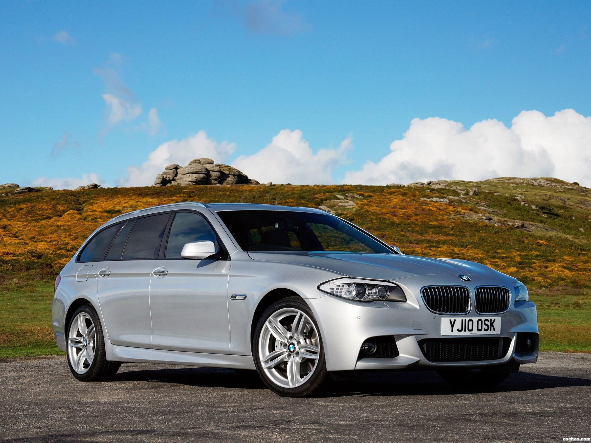 Foto 0 de BMW Serie 5 525d Touring M Sports Package F11 UK 2010