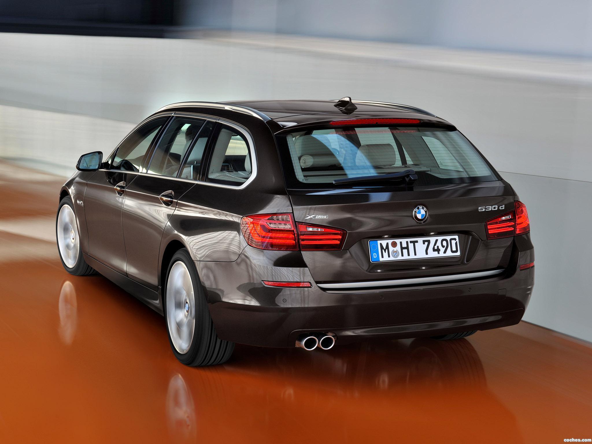Foto 14 de BMW Serie 5 530d xDrive Touring Modern Line 2013