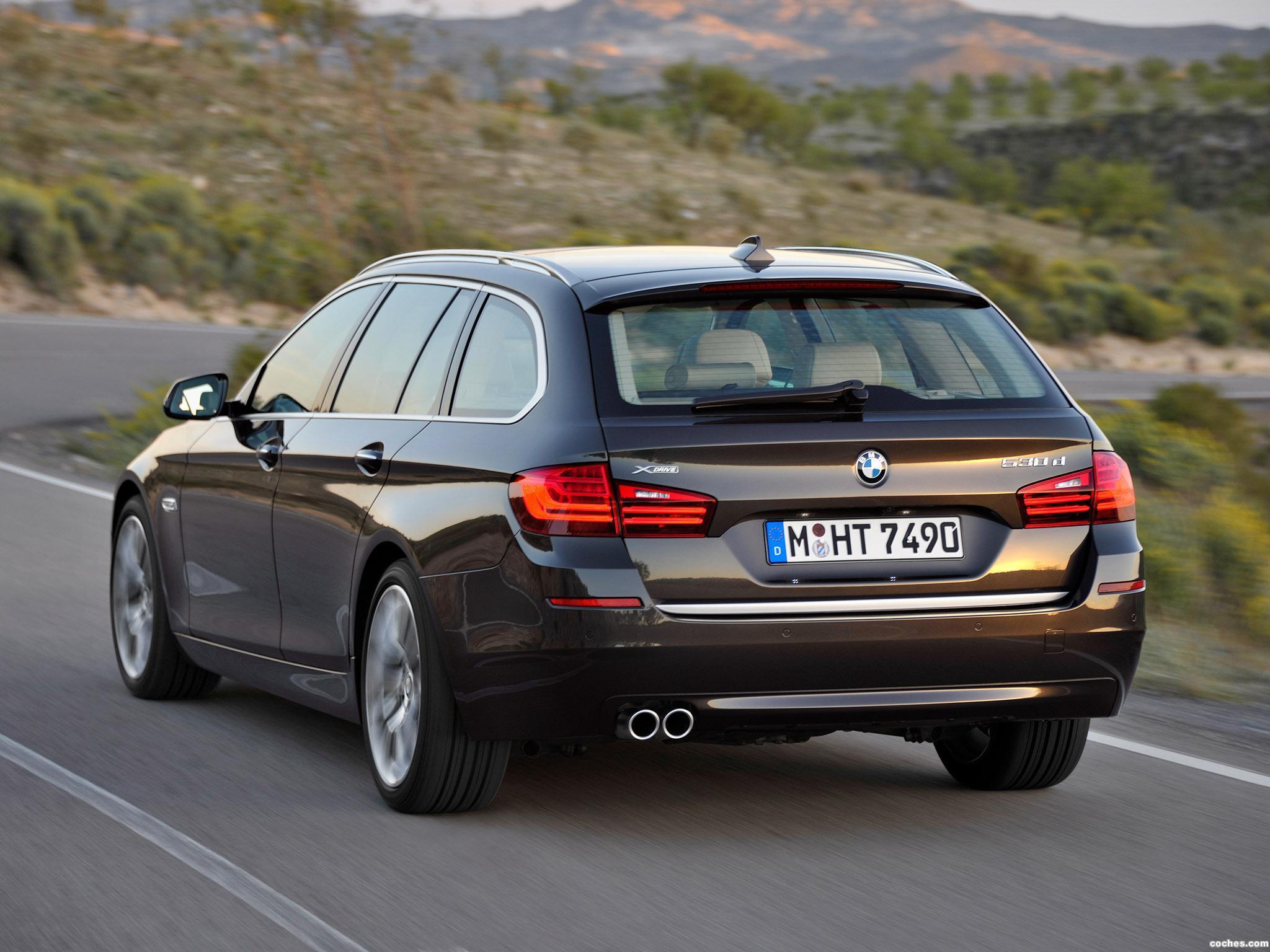 Foto 13 de BMW Serie 5 530d xDrive Touring Modern Line 2013