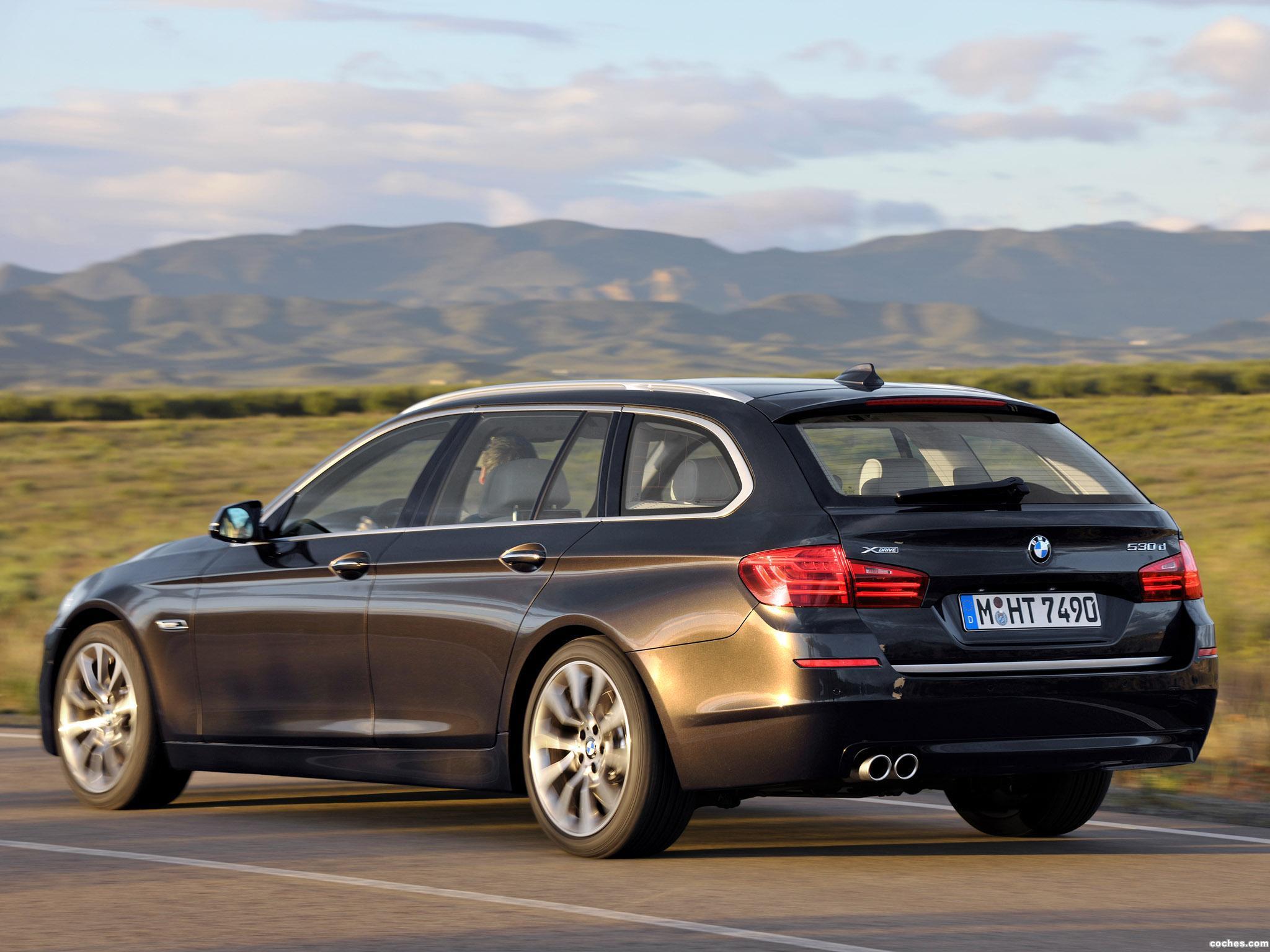 Foto 11 de BMW Serie 5 530d xDrive Touring Modern Line 2013