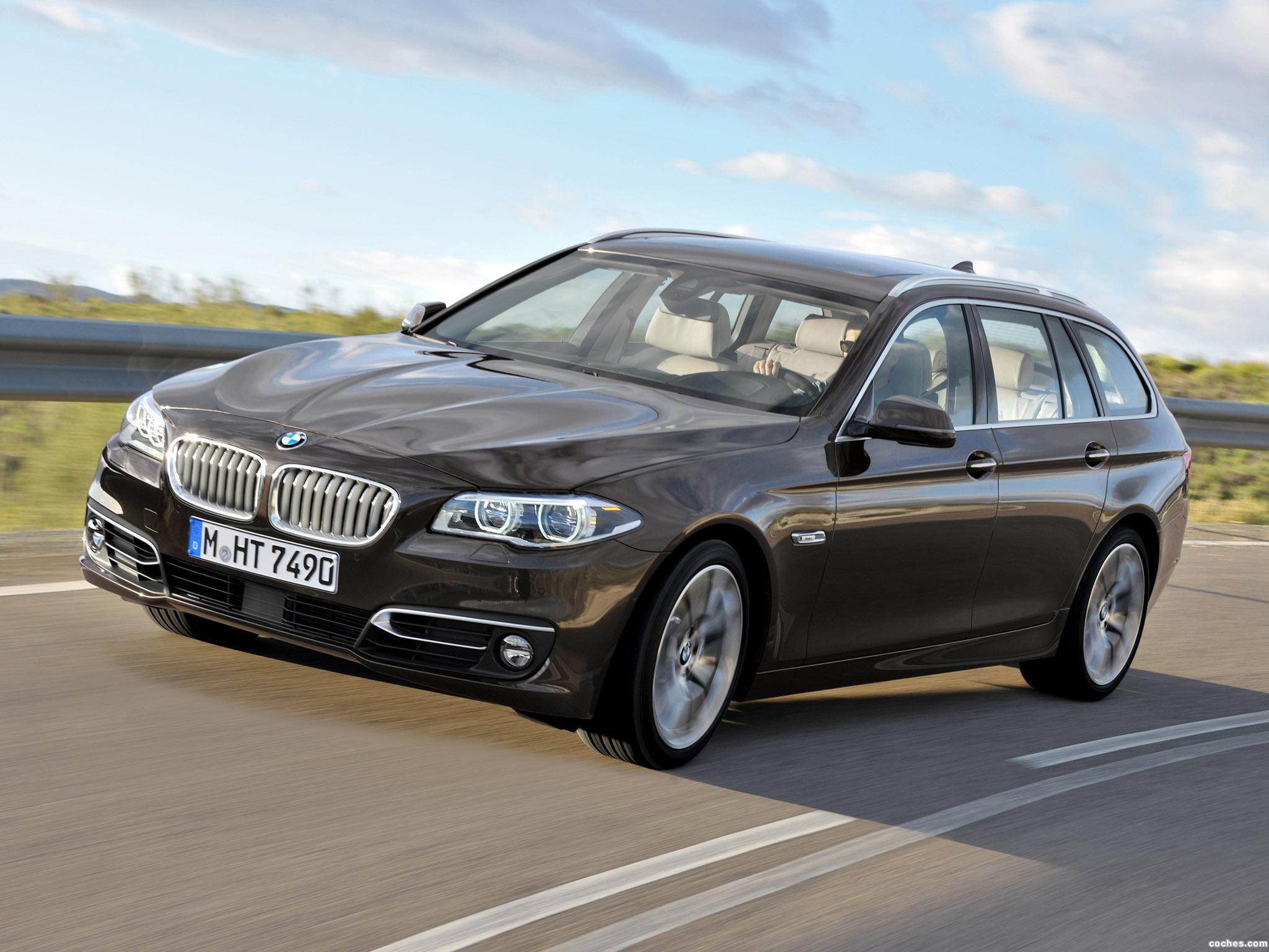 Foto 10 de BMW Serie 5 530d xDrive Touring Modern Line 2013
