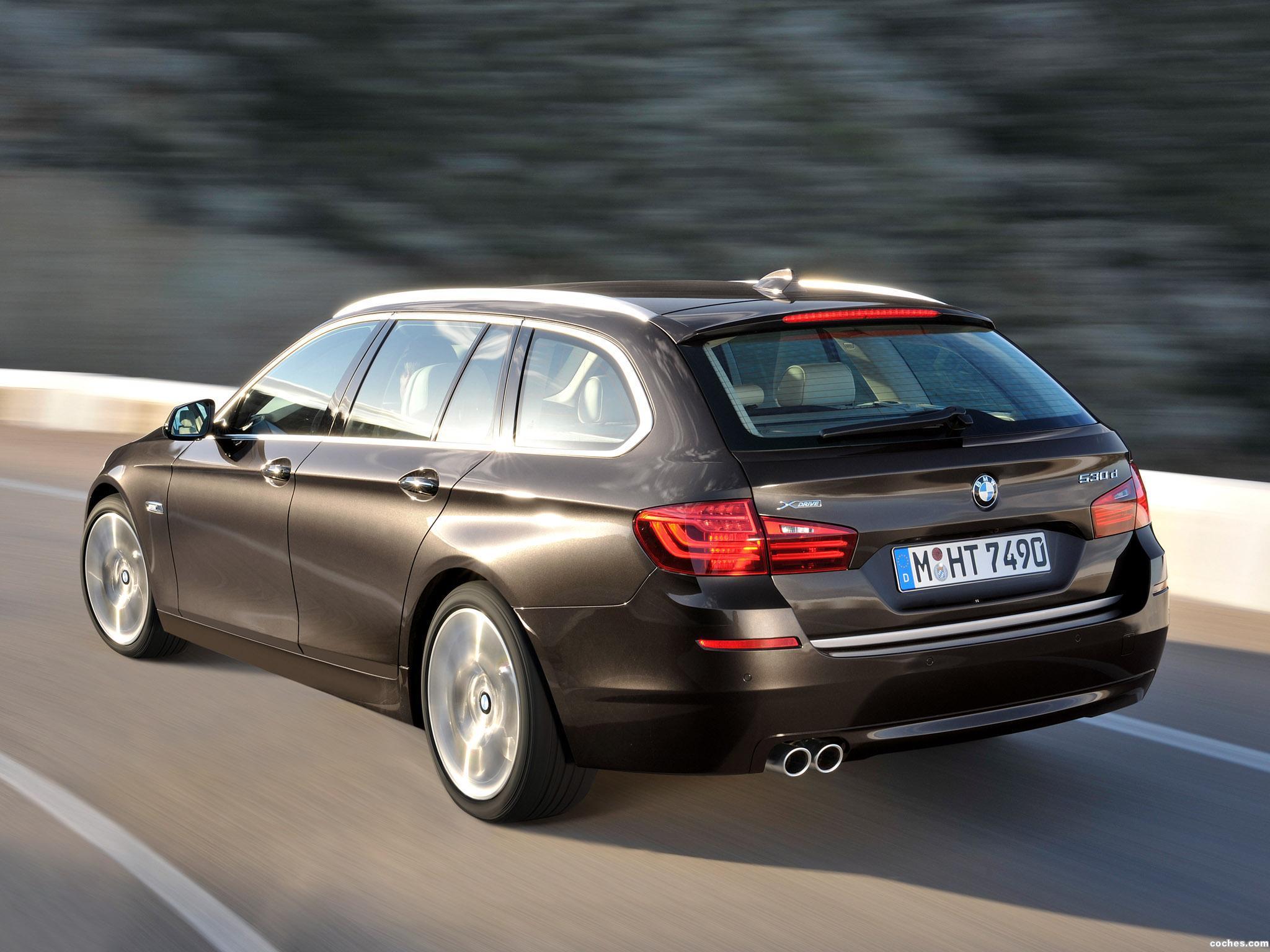Foto 3 de BMW Serie 5 530d xDrive Touring Modern Line 2013