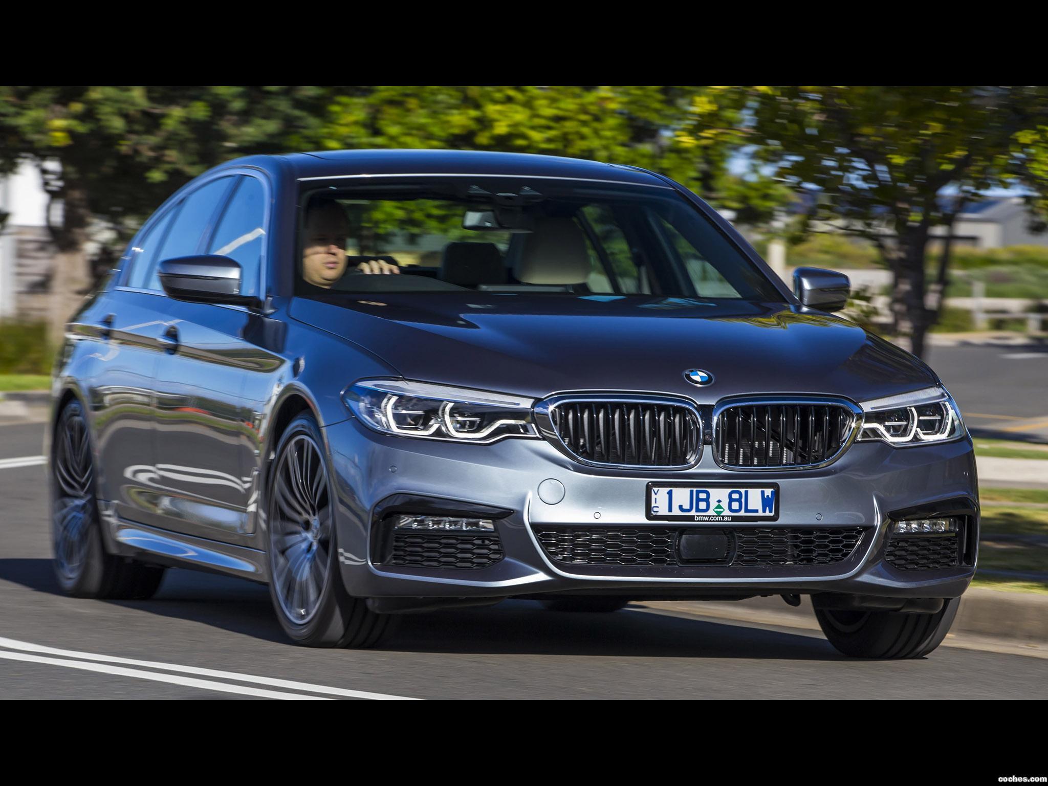Foto 7 de BMW Serie 5 530e M Sport Australia 2017