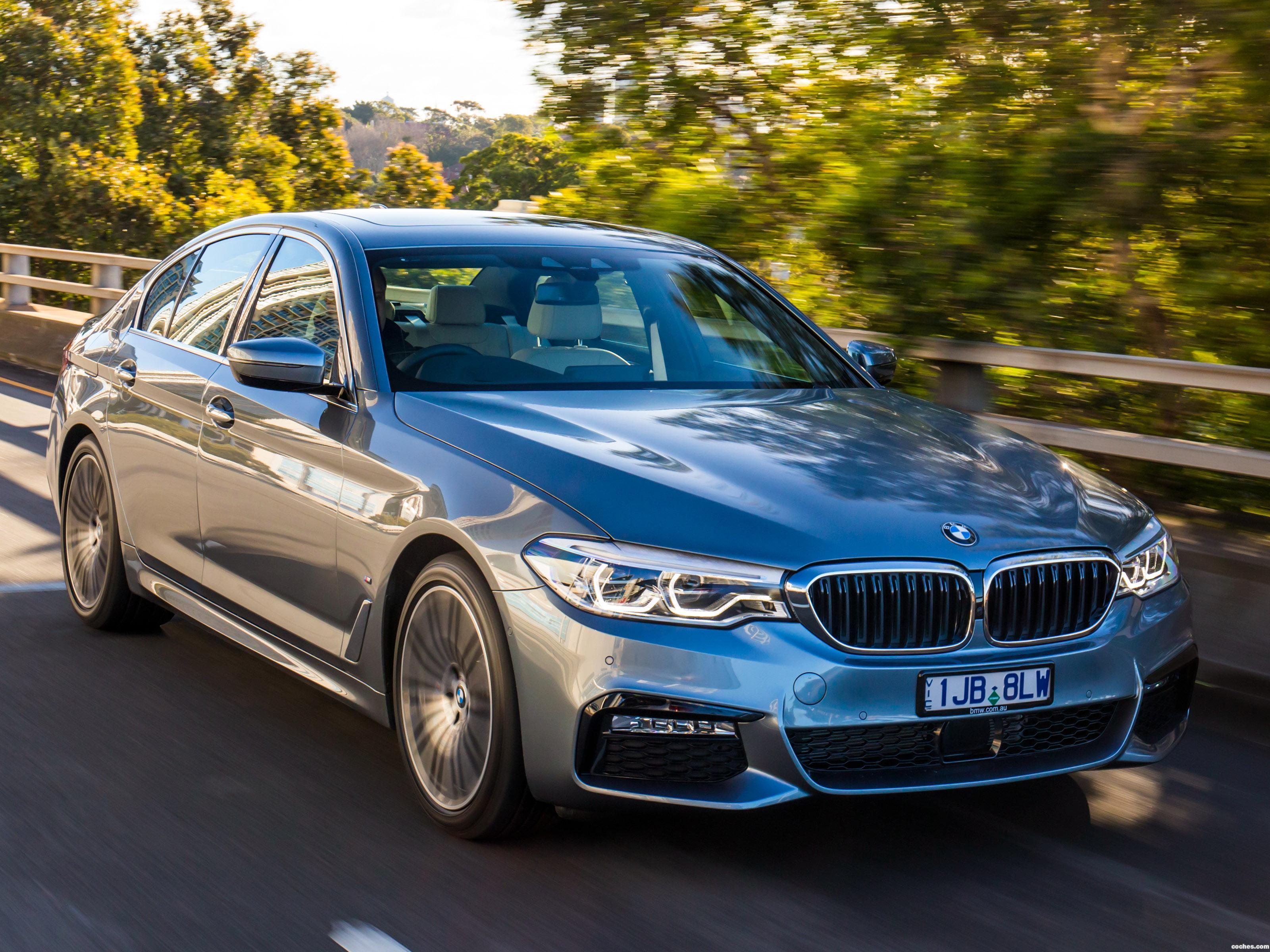 Foto 0 de BMW Serie 5 530e M Sport Australia 2017