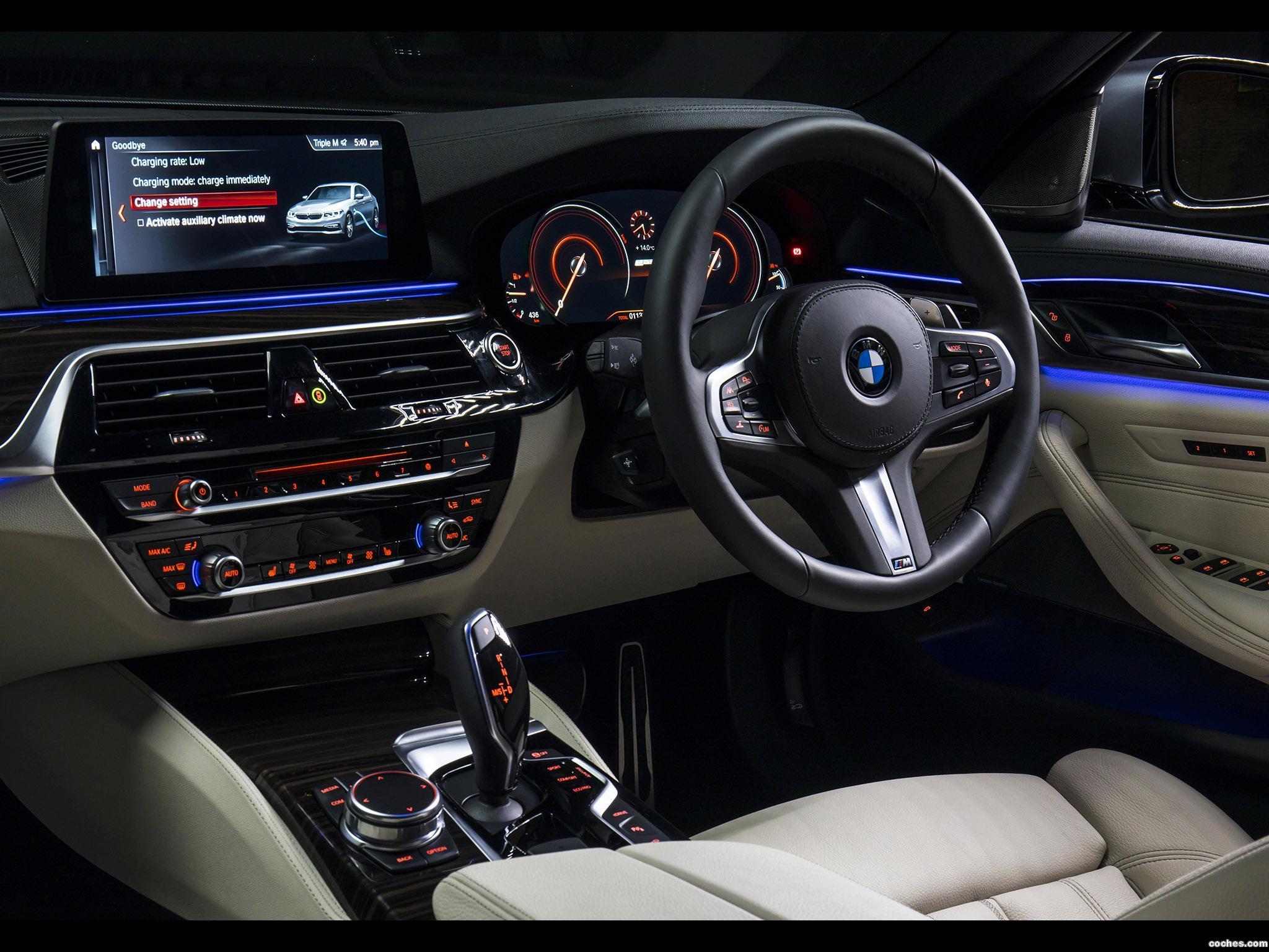 Foto 16 de BMW Serie 5 530e M Sport Australia 2017