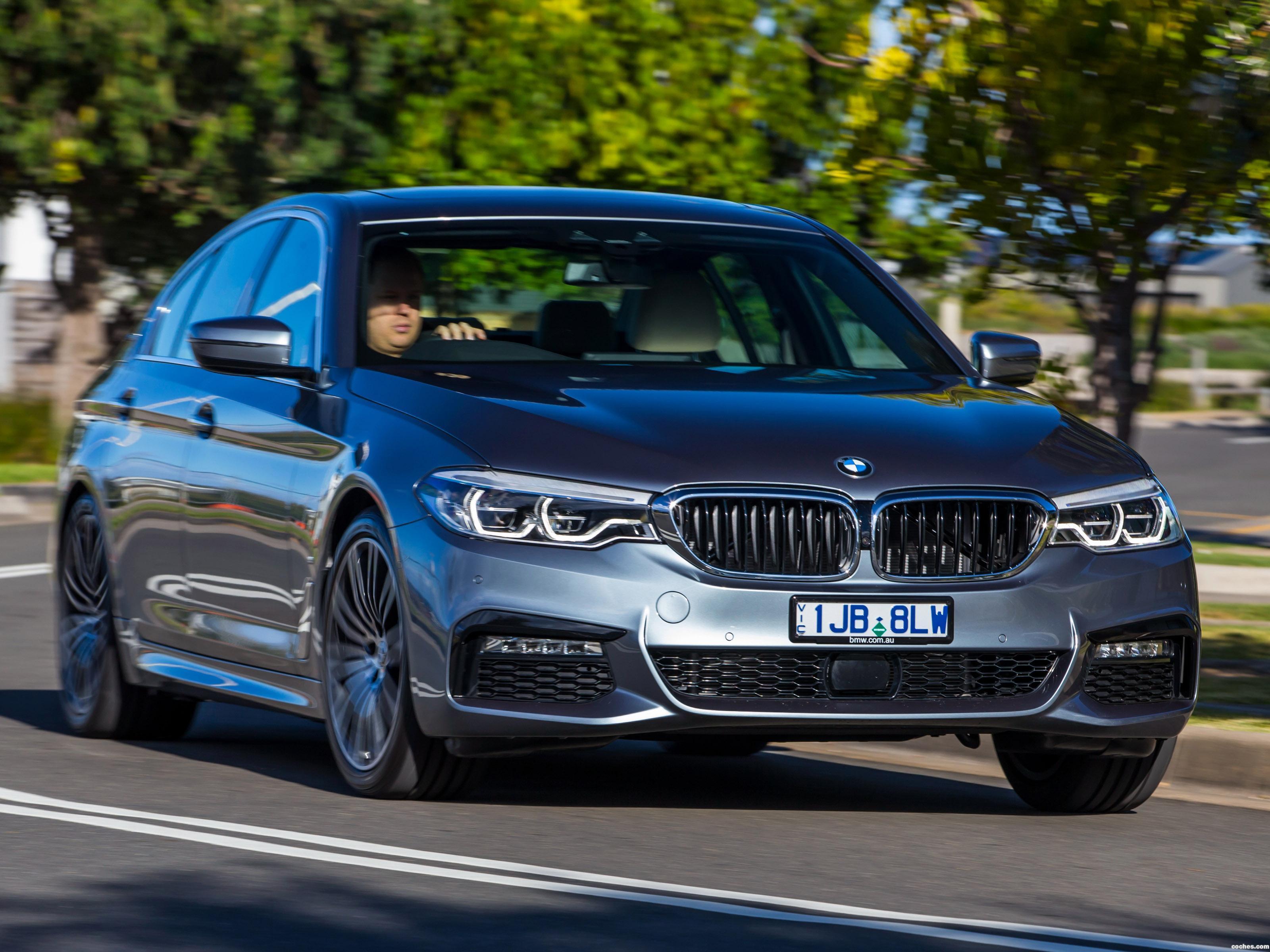 Foto 11 de BMW Serie 5 530e M Sport Australia 2017