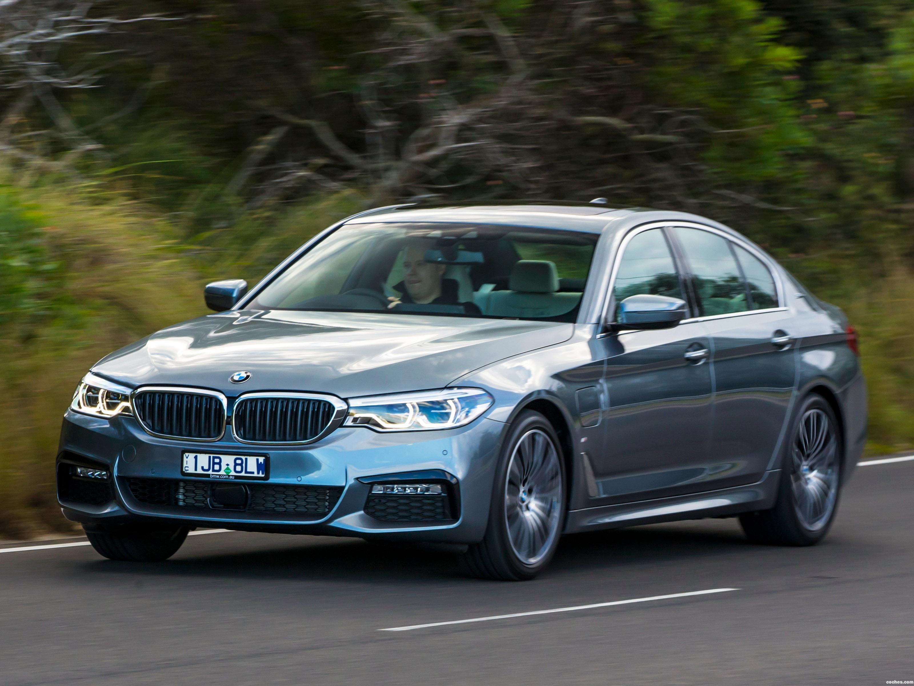 Foto 9 de BMW Serie 5 530e M Sport Australia 2017
