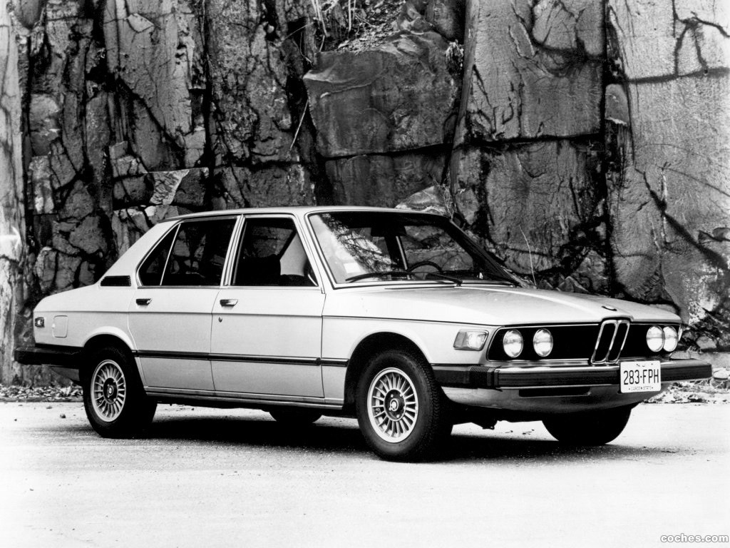 Foto 0 de BMW 5-Series 530i Sedan USA E12 1974