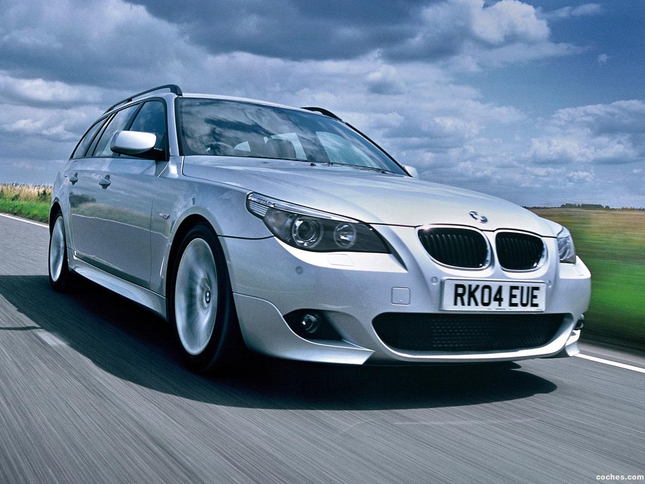 Foto 9 de BMW Serie 5 535d Touring M Sports Package UK E61 2005