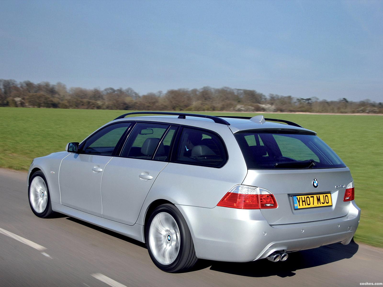 Foto 8 de BMW Serie 5 535d Touring M Sports Package UK E61 2005