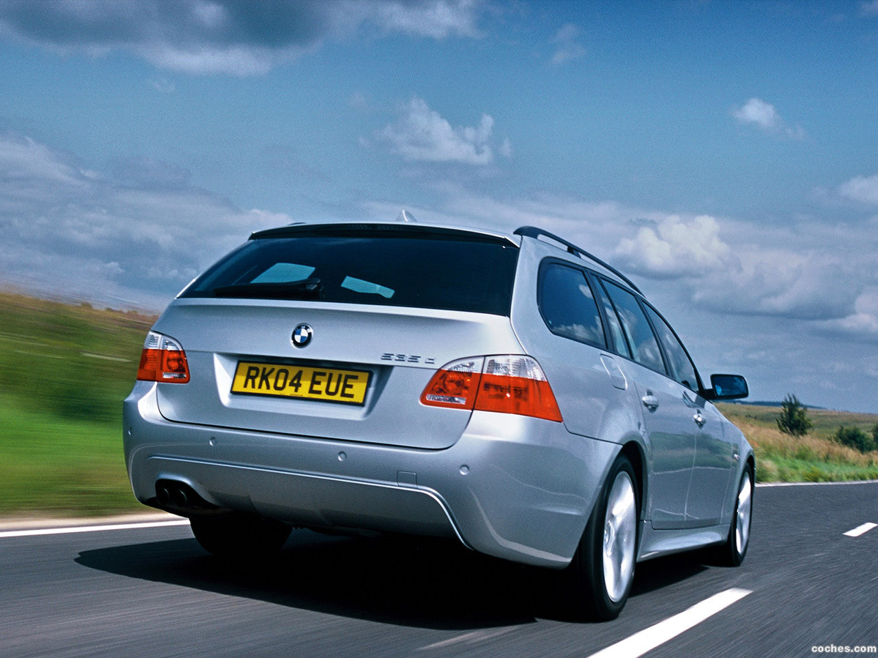 Foto 7 de BMW Serie 5 535d Touring M Sports Package UK E61 2005
