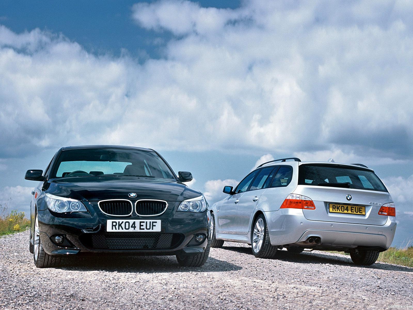 Foto 5 de BMW Serie 5 535d Touring M Sports Package UK E61 2005
