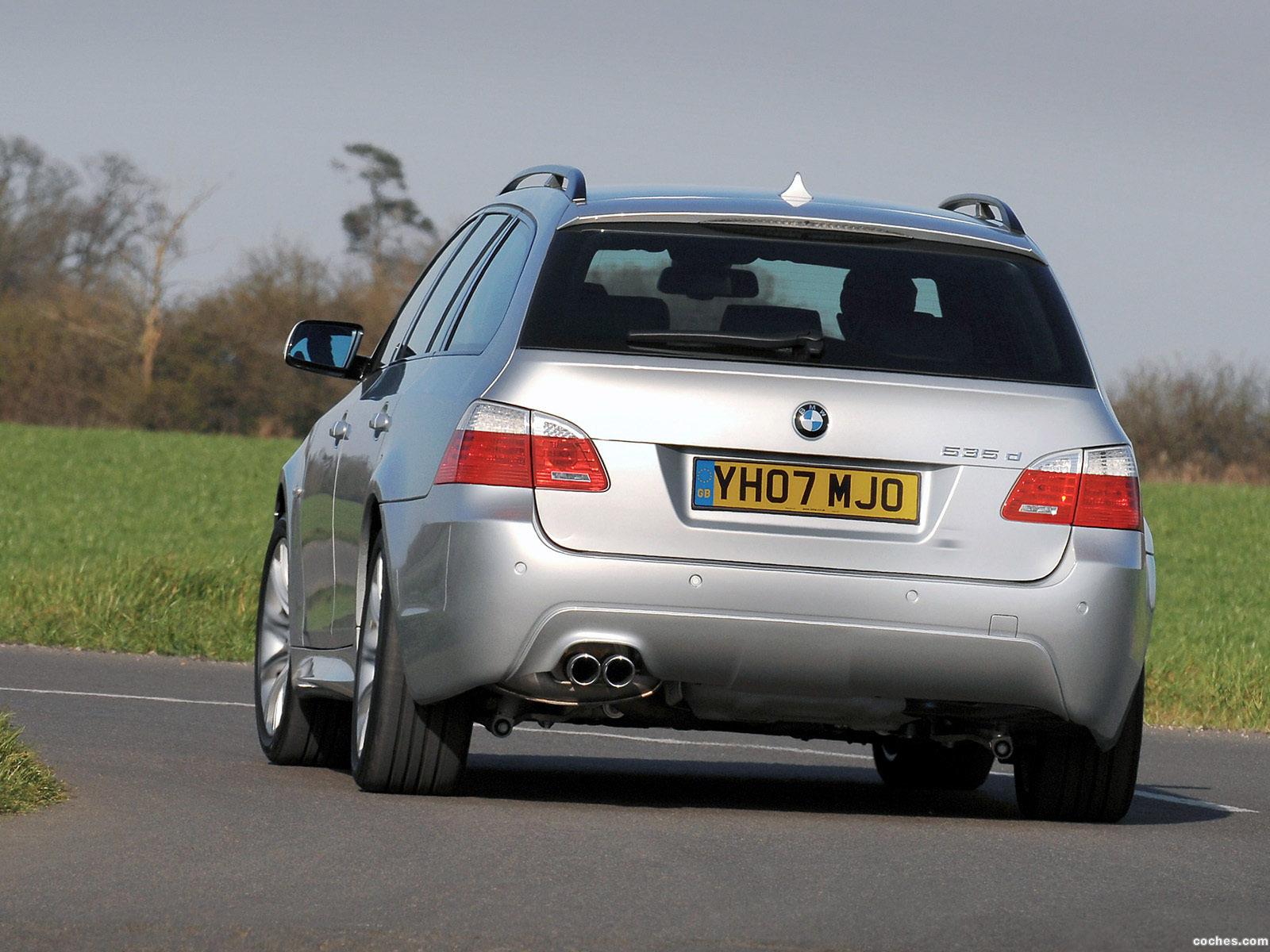 Foto 4 de BMW Serie 5 535d Touring M Sports Package UK E61 2005