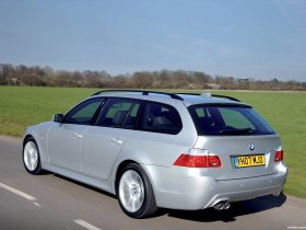 Ver foto 9 de BMW Serie 5 535d Touring M Sports Package UK E61 2005