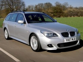 Ver foto 2 de BMW Serie 5 535d Touring M Sports Package UK E61 2005