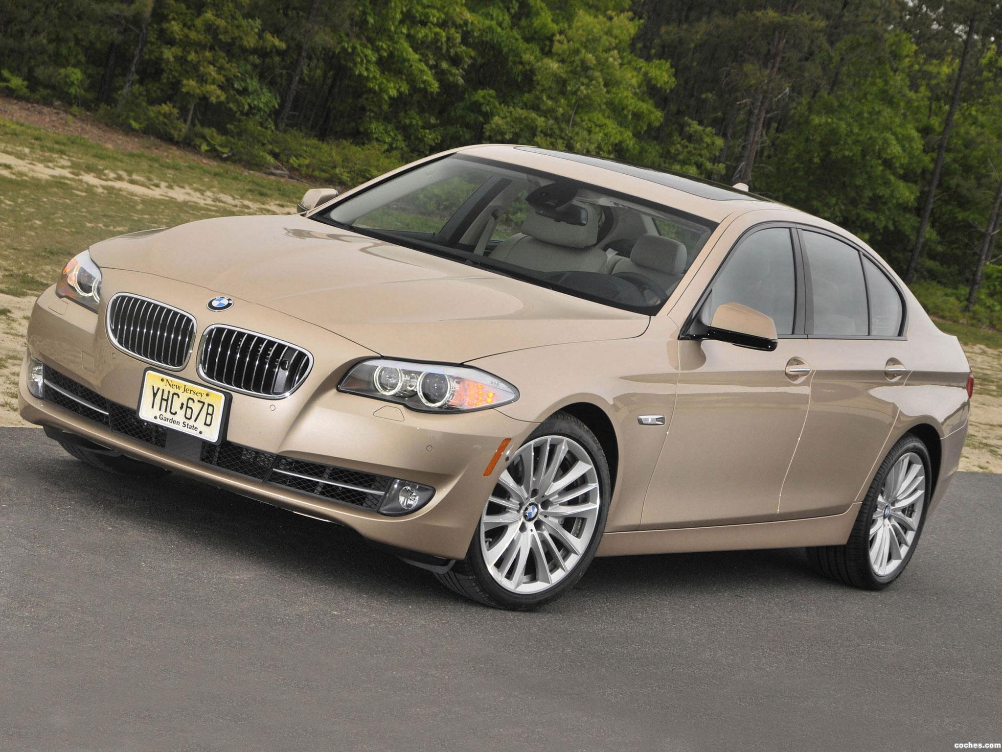 Foto 0 de BMW Serie 5 550i Sedan USA F10 2010