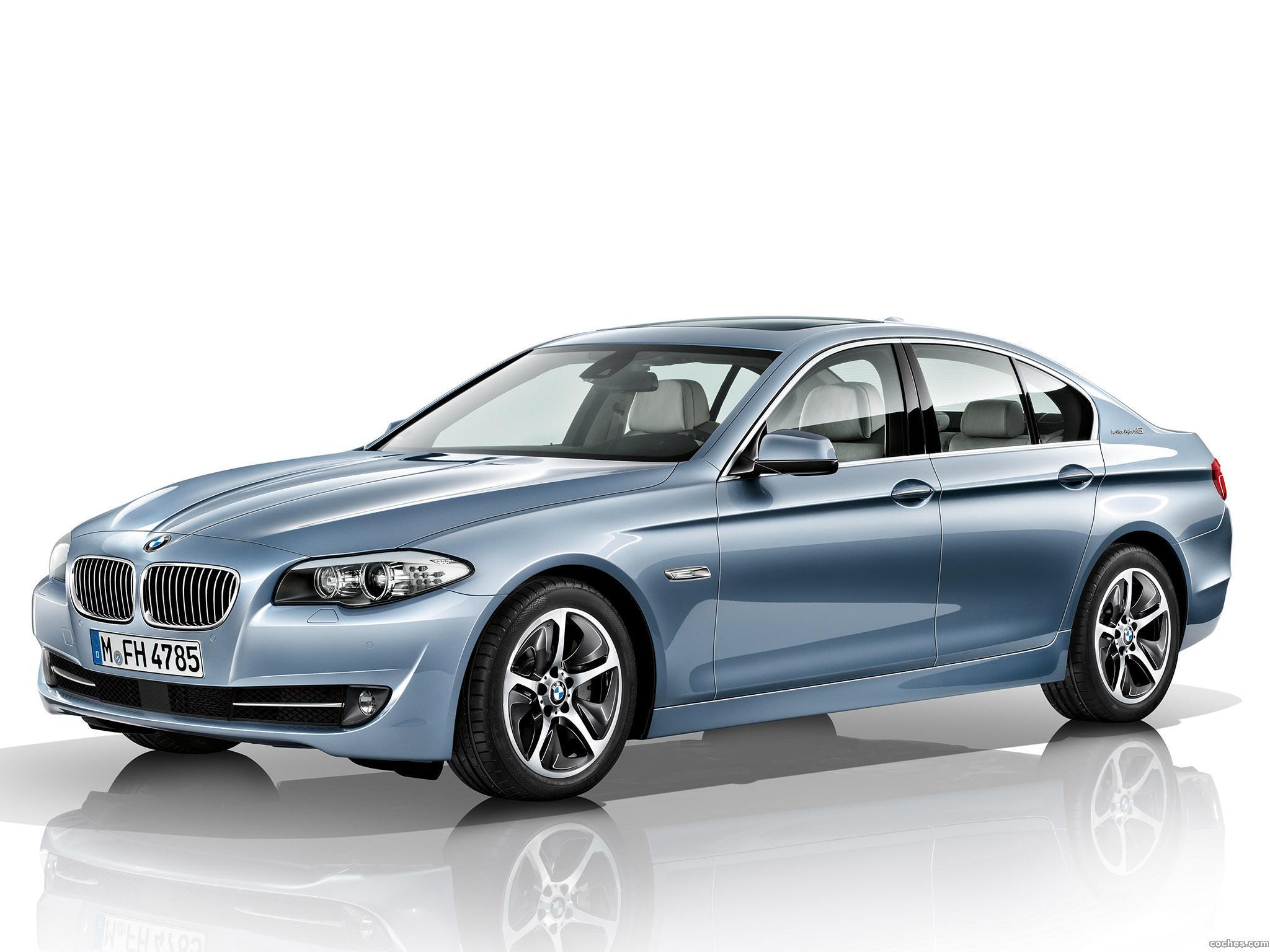Foto 0 de BMW Serie 5 ActiveHybrid 2011