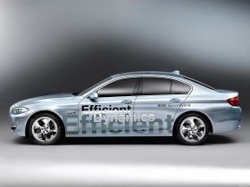 Ver foto 8 de BMW 5-Series ActiveHybrid Concept 2010