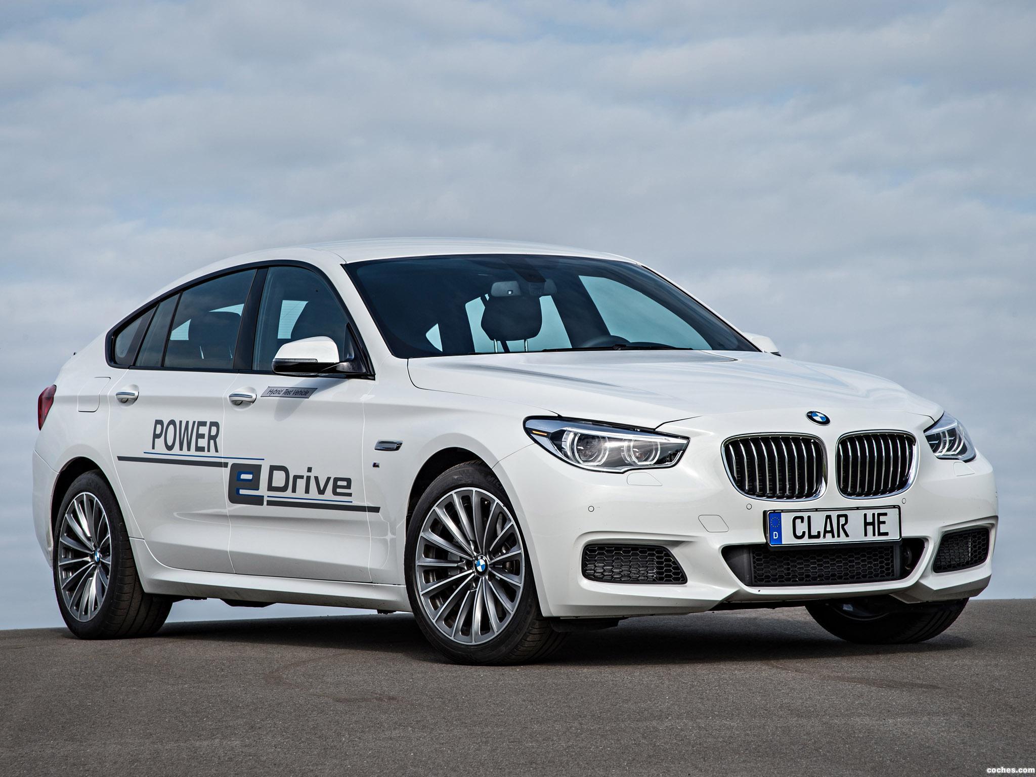 Foto 15 de BMW Serie 5 Gran Turismo Edrive Prototype 2014