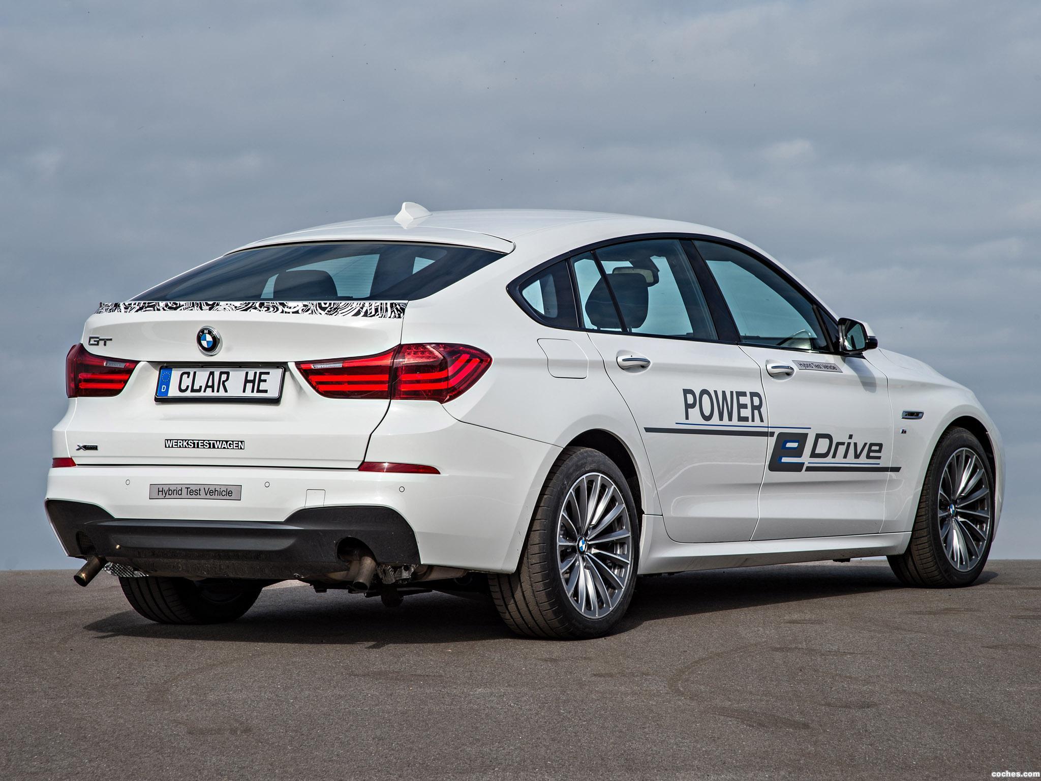 Foto 6 de BMW Serie 5 Gran Turismo Edrive Prototype 2014