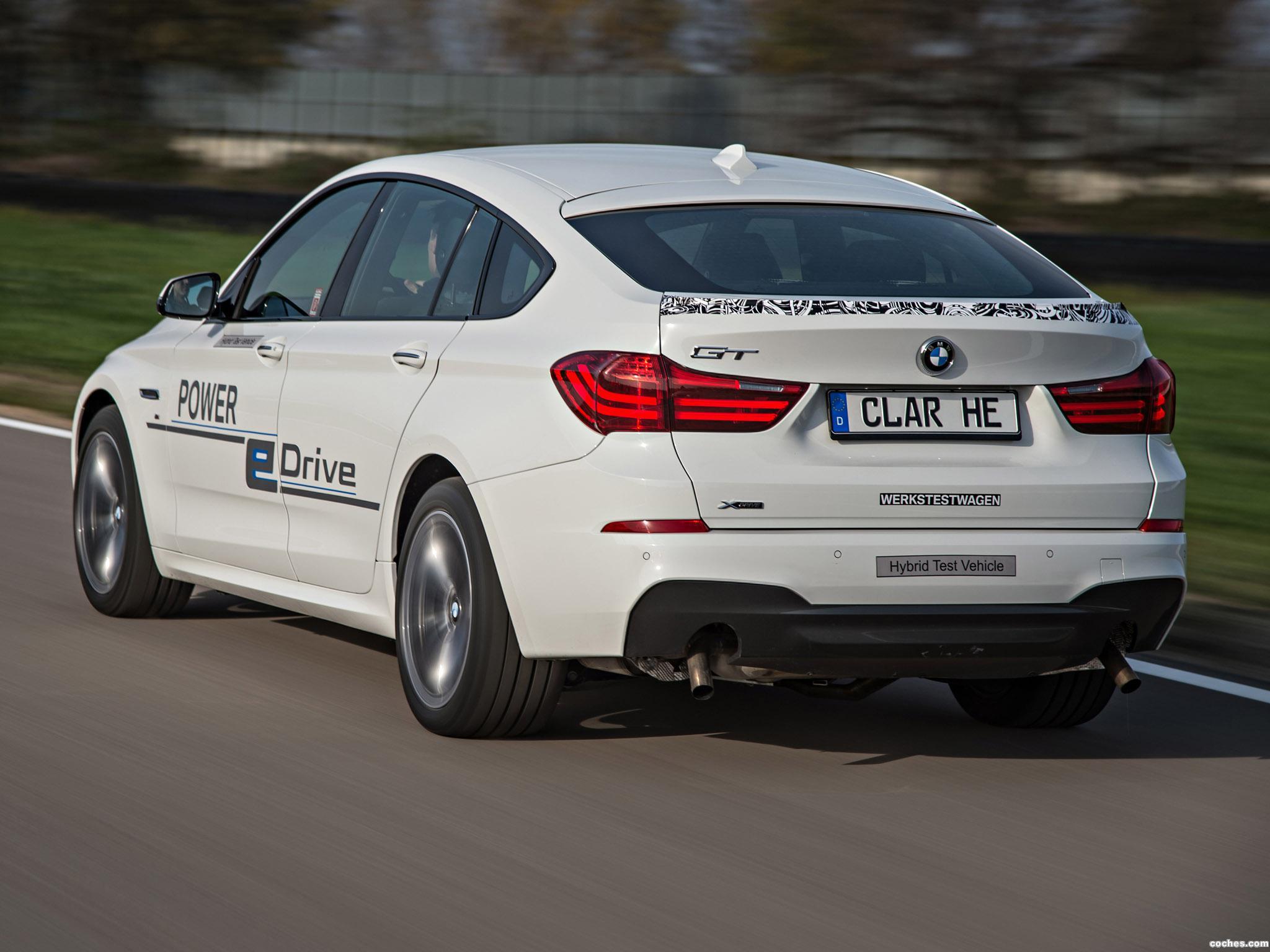 Foto 4 de BMW Serie 5 Gran Turismo Edrive Prototype 2014