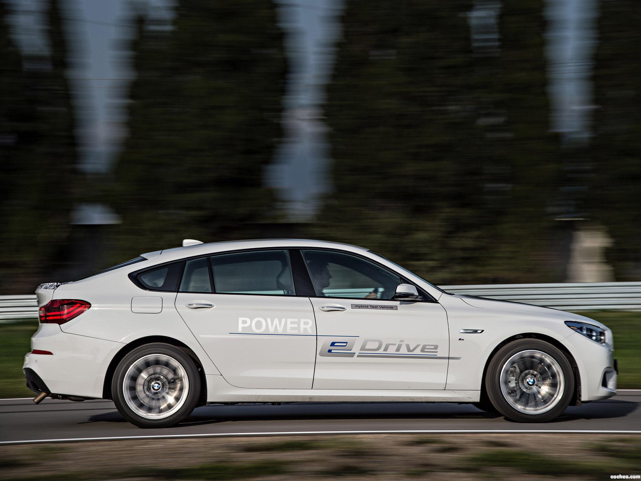 Foto 2 de BMW Serie 5 Gran Turismo Edrive Prototype 2014