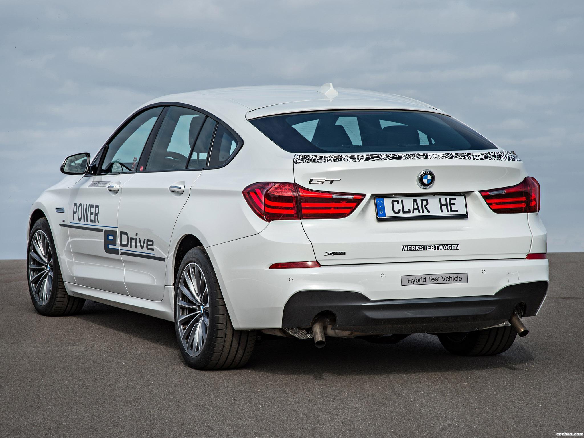 Foto 1 de BMW Serie 5 Gran Turismo Edrive Prototype 2014