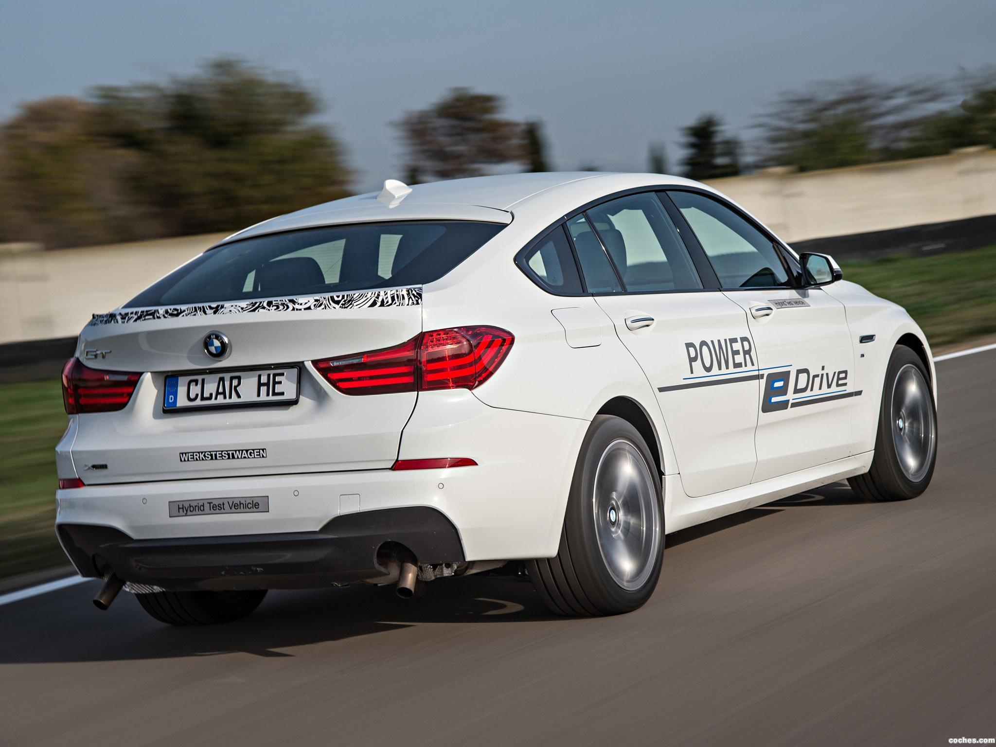 Foto 11 de BMW Serie 5 Gran Turismo Edrive Prototype 2014