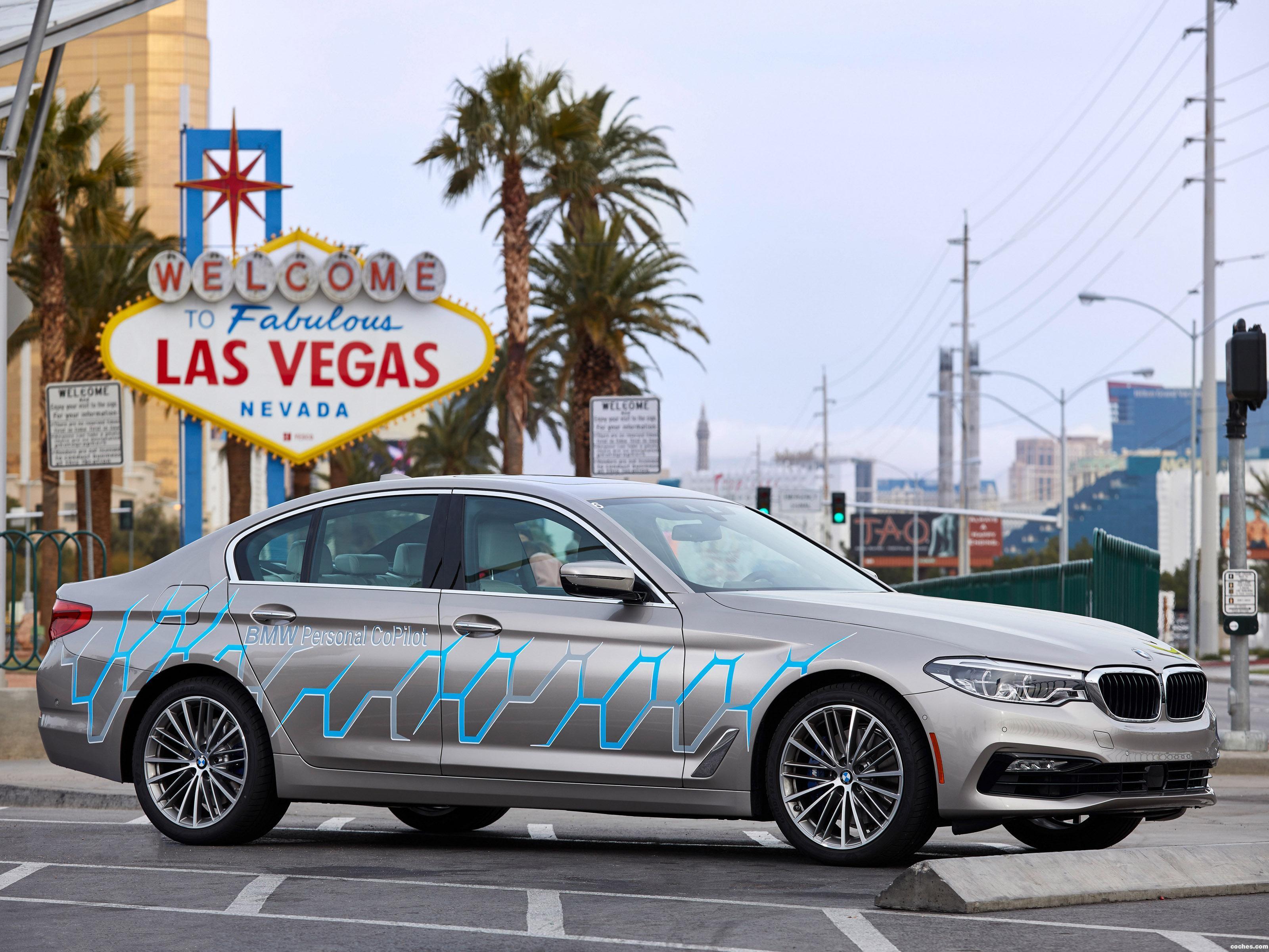 Foto 0 de BMW Serie 5 Personal Copilot Autonomous Prototype 2017