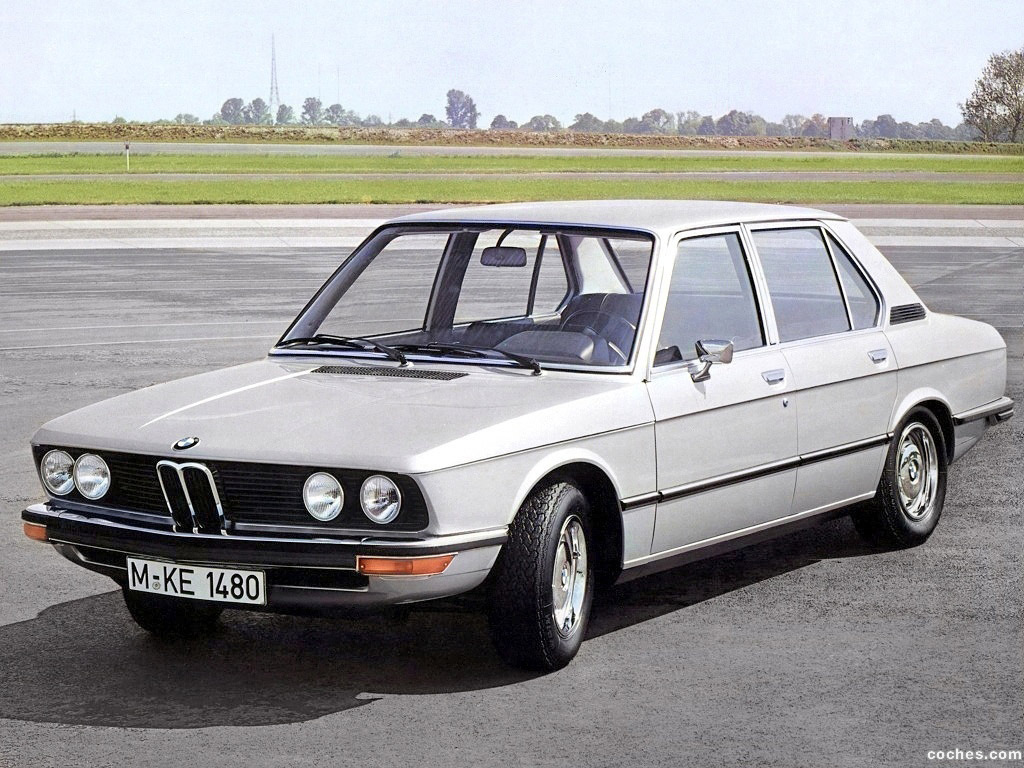Foto 0 de BMW 5-Series Sedan E12 1972