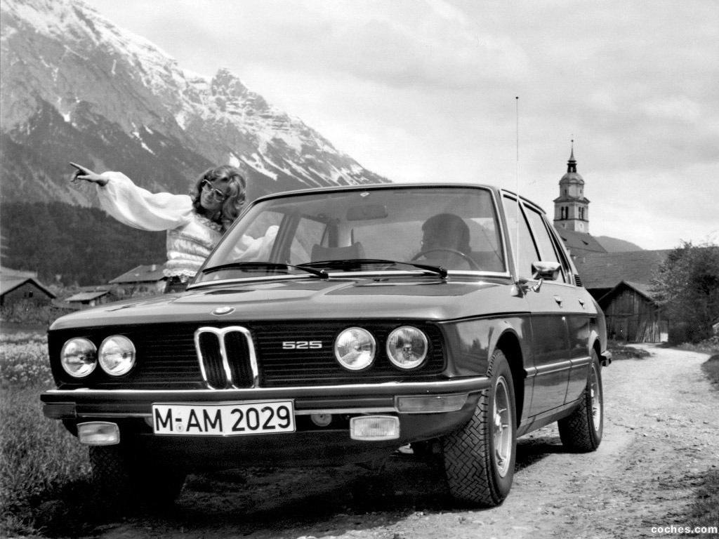 Foto 7 de BMW 5-Series Sedan E12 1972