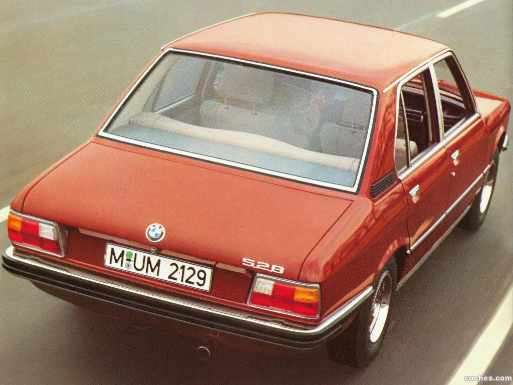 Foto 3 de BMW 5-Series Sedan E12 1972