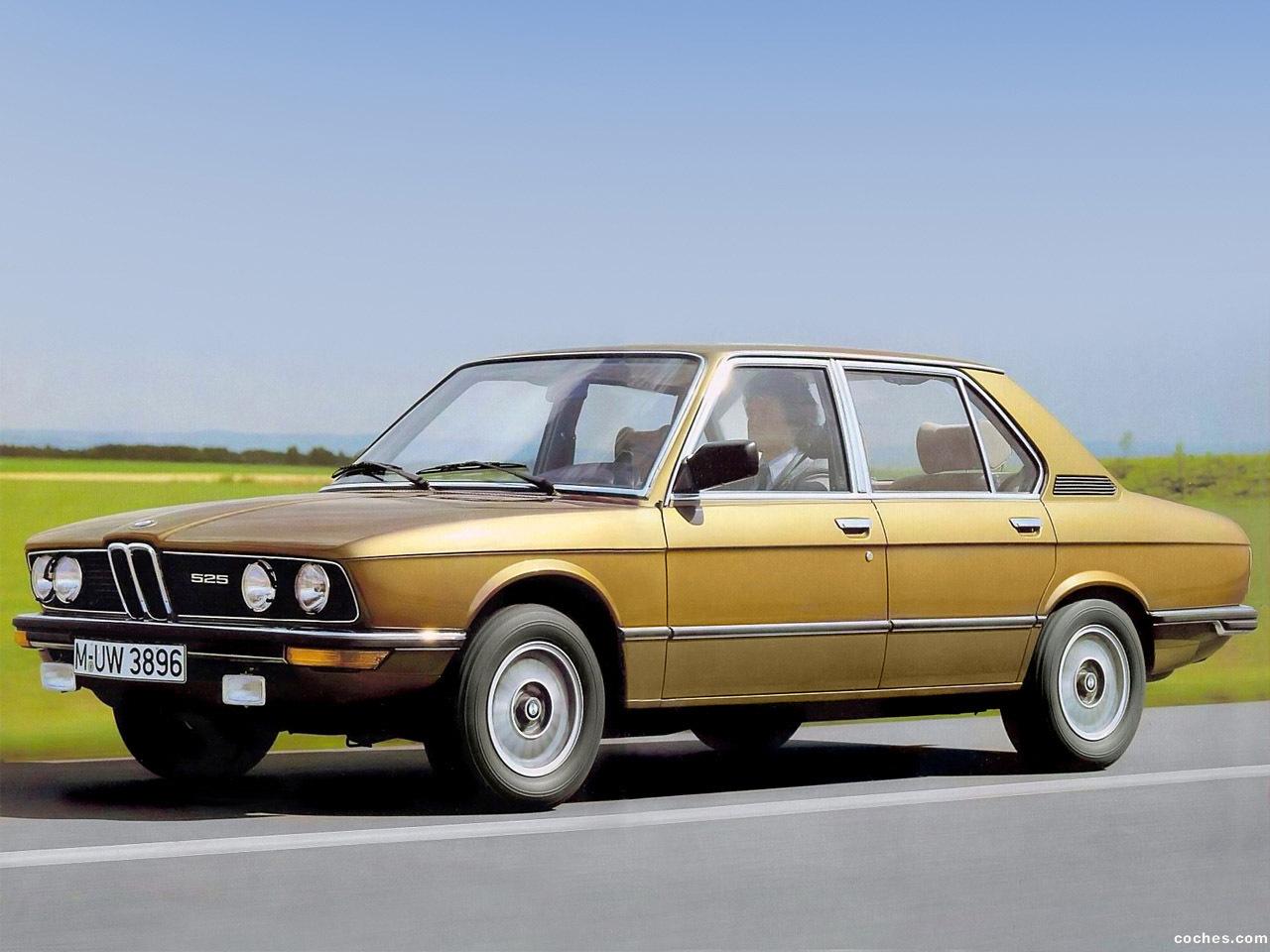 Foto 0 de BMW 5-Series Sedan E12 1976