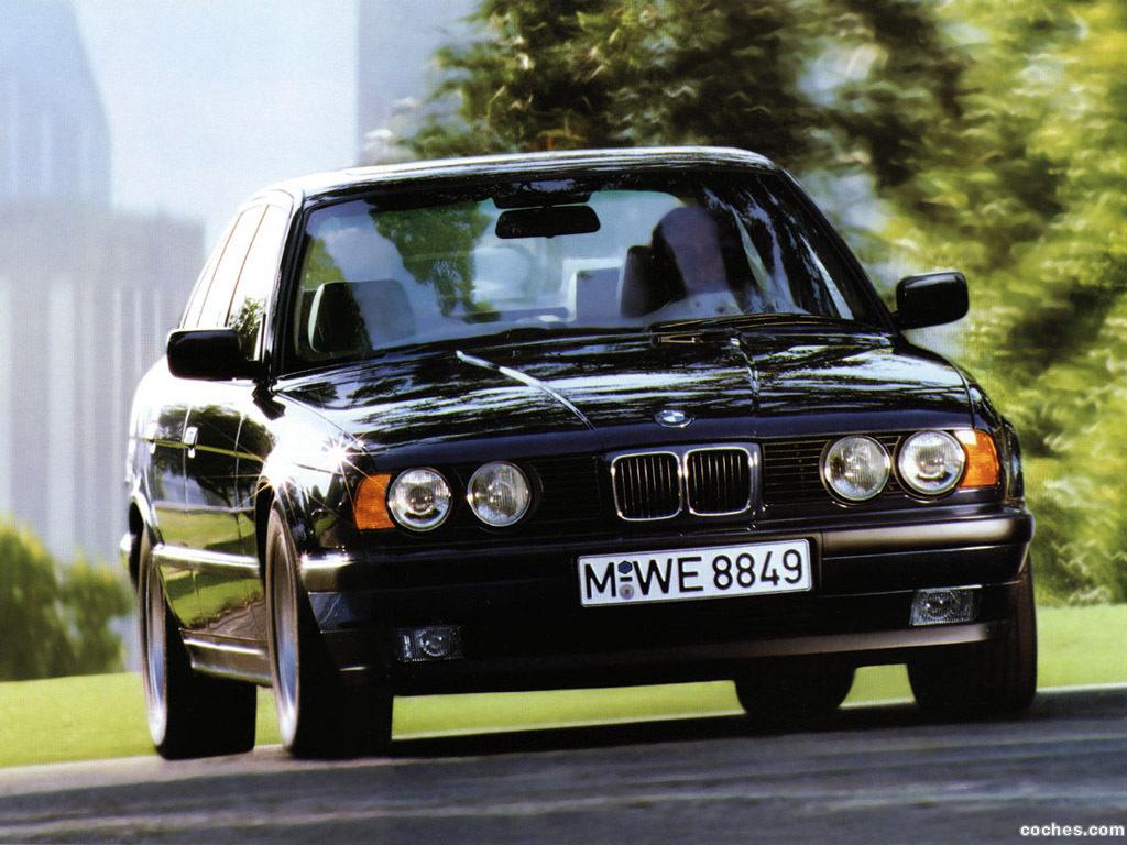 Foto 0 de BMW 5-Series Sedan E34