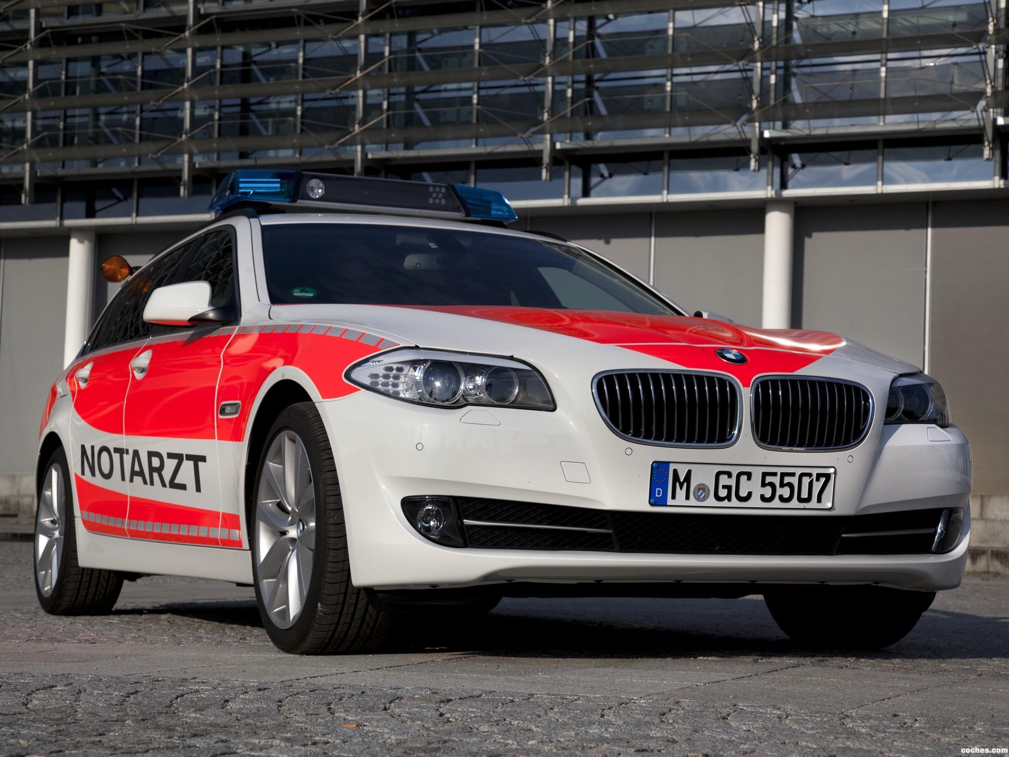 Foto 0 de BMW Serie 5 Touring Notarzt F11 2011