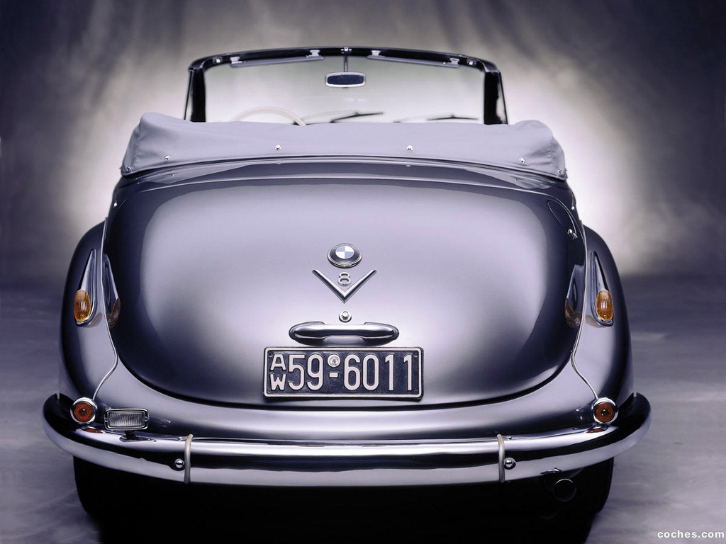 Foto 3 de BMW 502 Cabrio 1954
