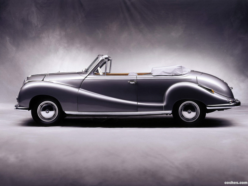 Foto 2 de BMW 502 Cabrio 1954