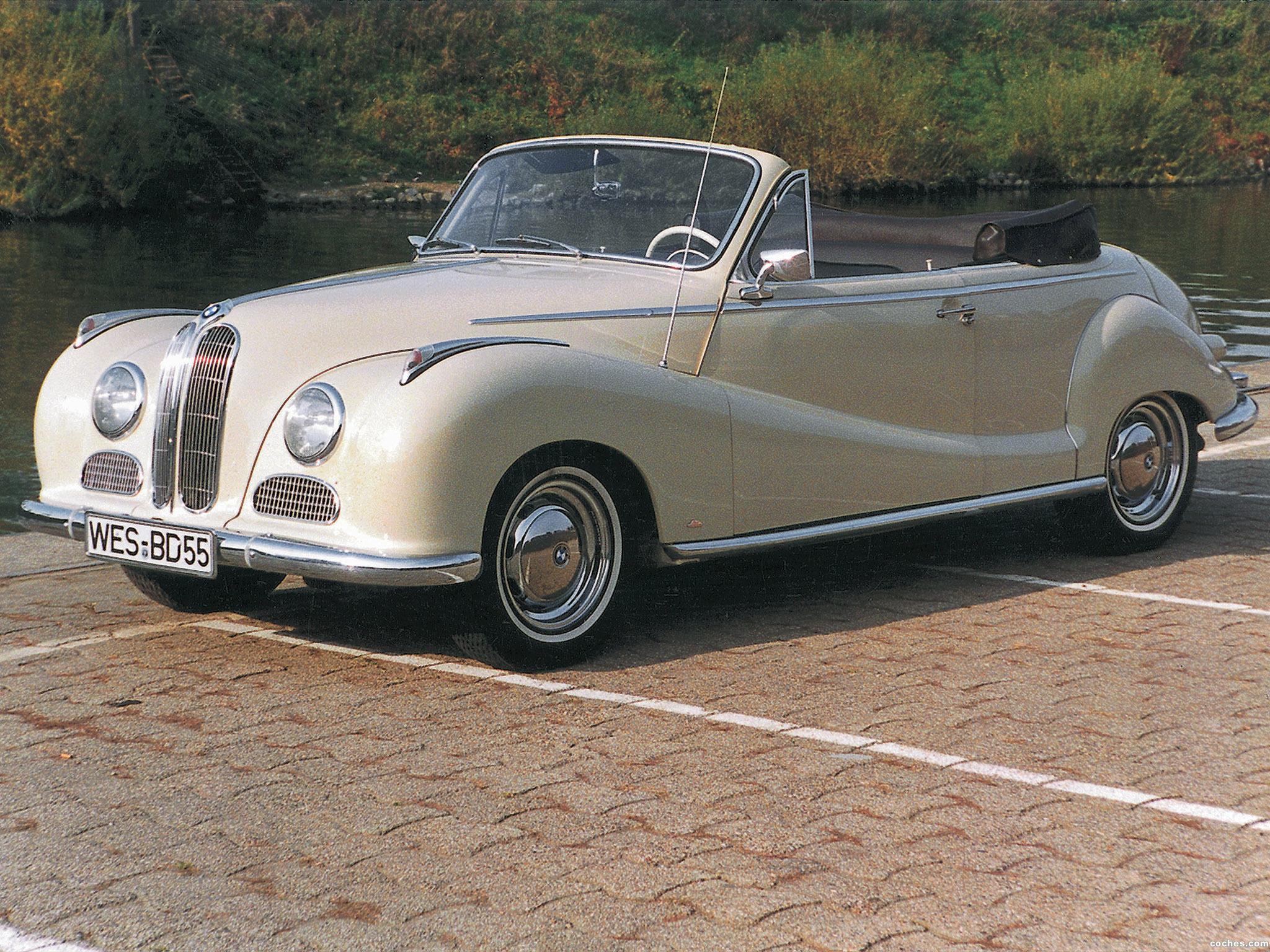Foto 0 de BMW 502 Cabrio 1954