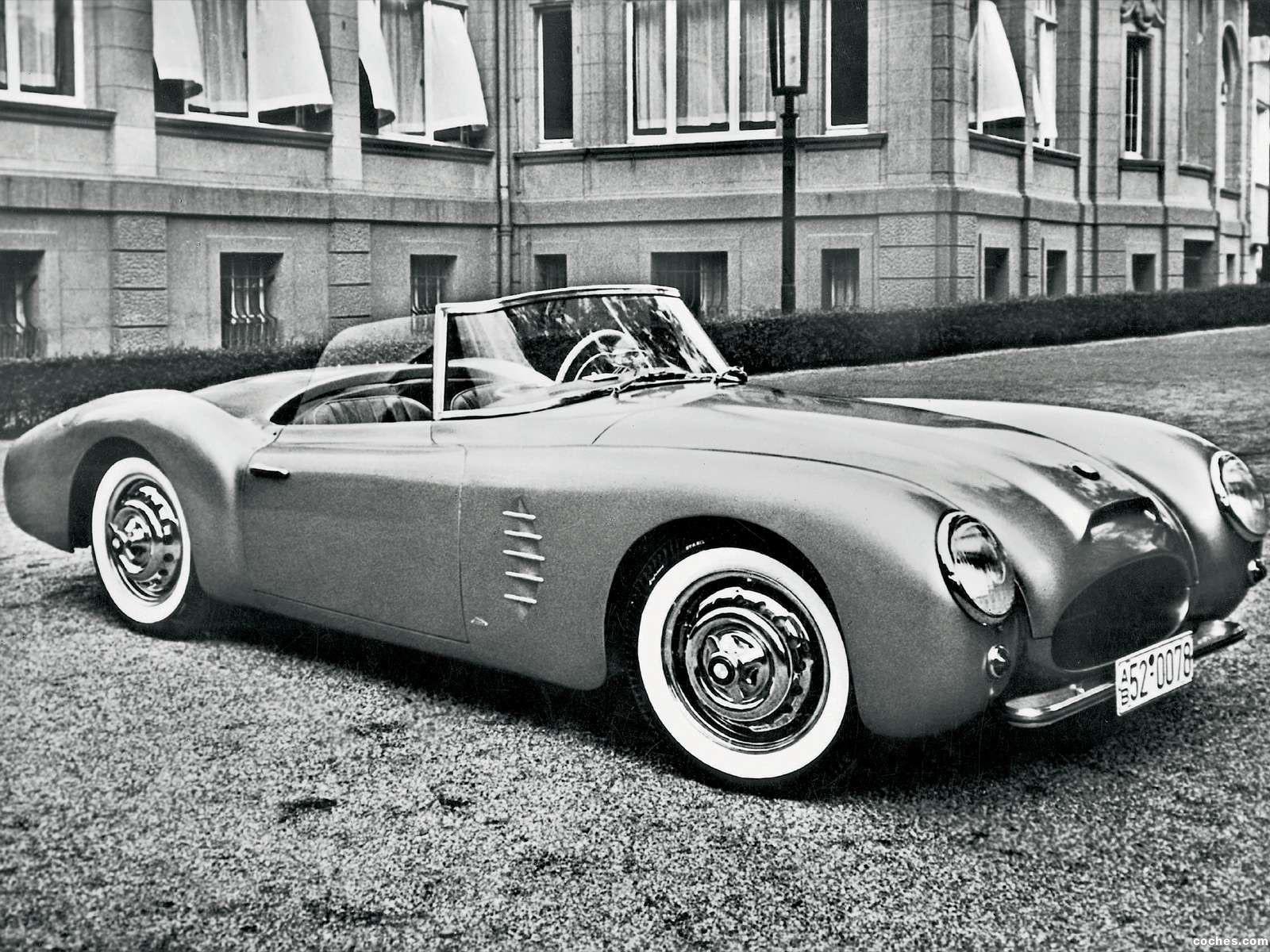 Foto 0 de BMW 507 Prototype 1954