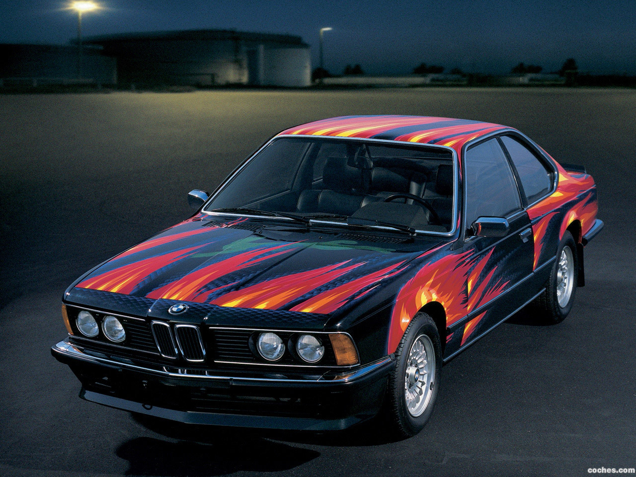 Foto 0 de BMW Serie 6 635csi Art Car by Ernst Fuchs E24 1982