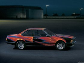 Ver foto 3 de BMW Serie 6 635csi Art Car by Ernst Fuchs E24 1982