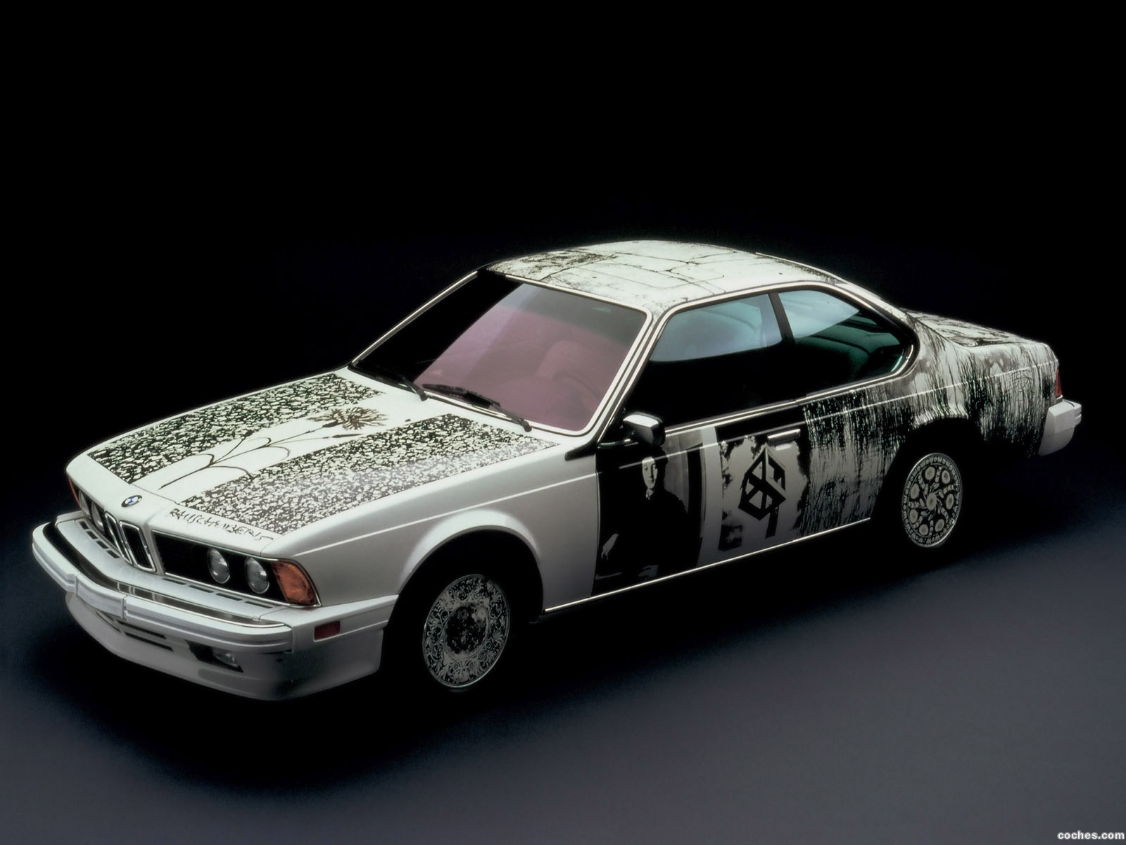 Foto 0 de BMW Serie 6 635csi Art Car by Robert Rauschenber E24 1986