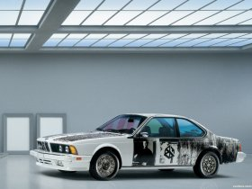 Ver foto 2 de BMW Serie 6 635csi Art Car by Robert Rauschenber E24 1986