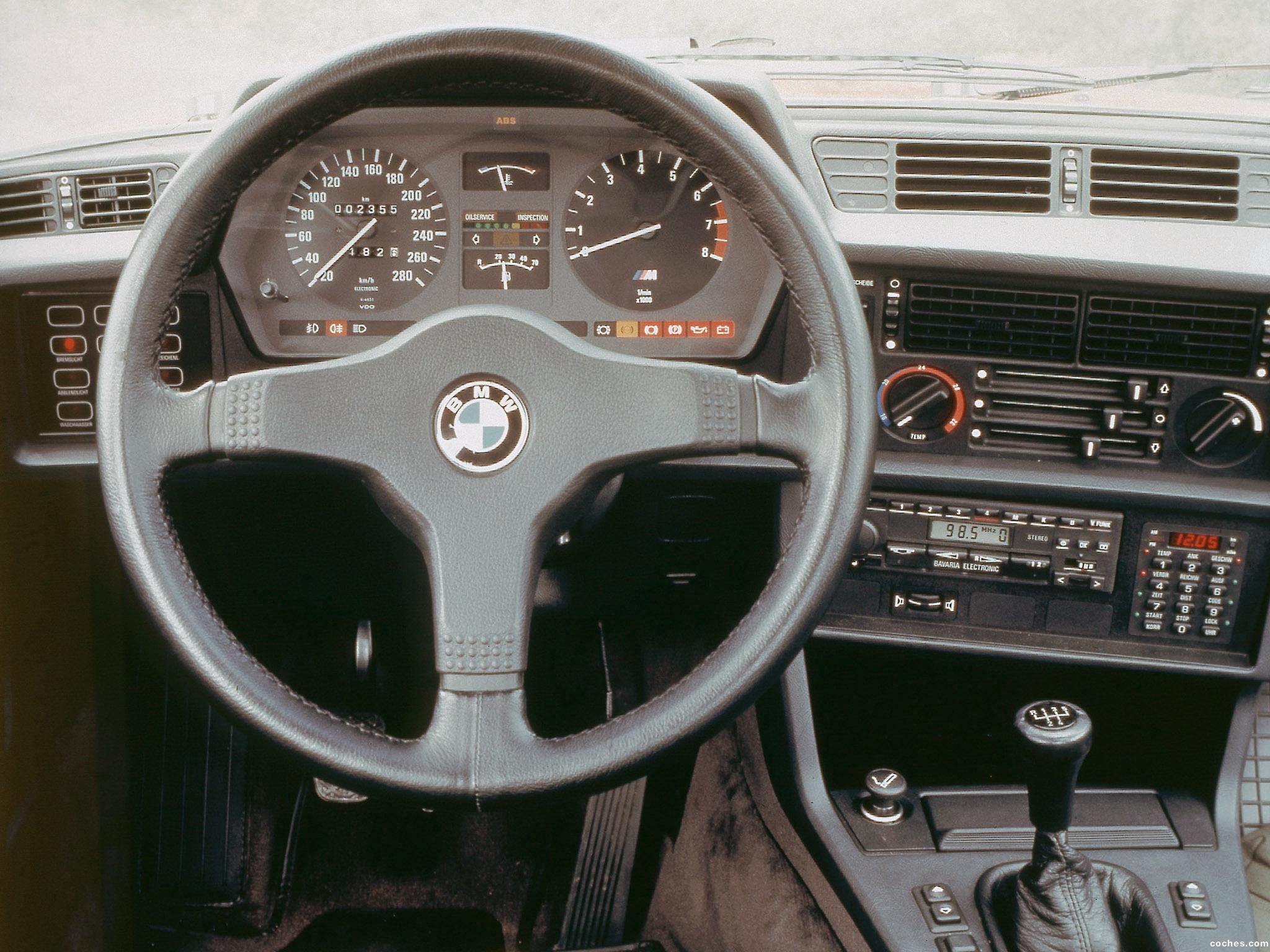 Foto 4 de BMW Serie 6 635csi E24 1987