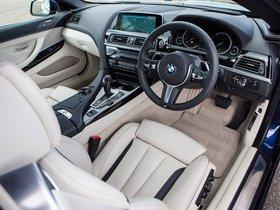 Ver foto 12 de BMW Serie 6 640d Cabrio M Sport F12 UK 2015