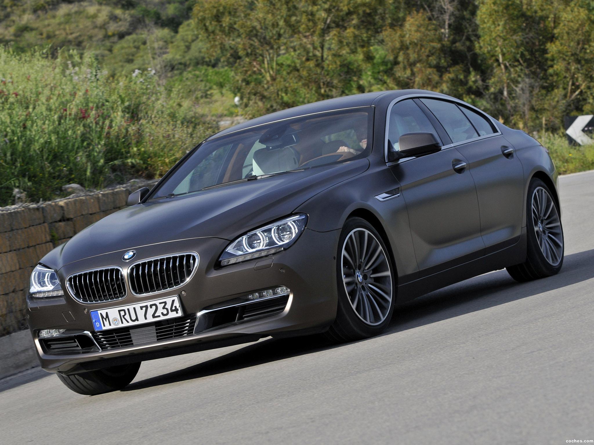 Foto 0 de BMW Serie 6 640d Gran Coupe F06  2012