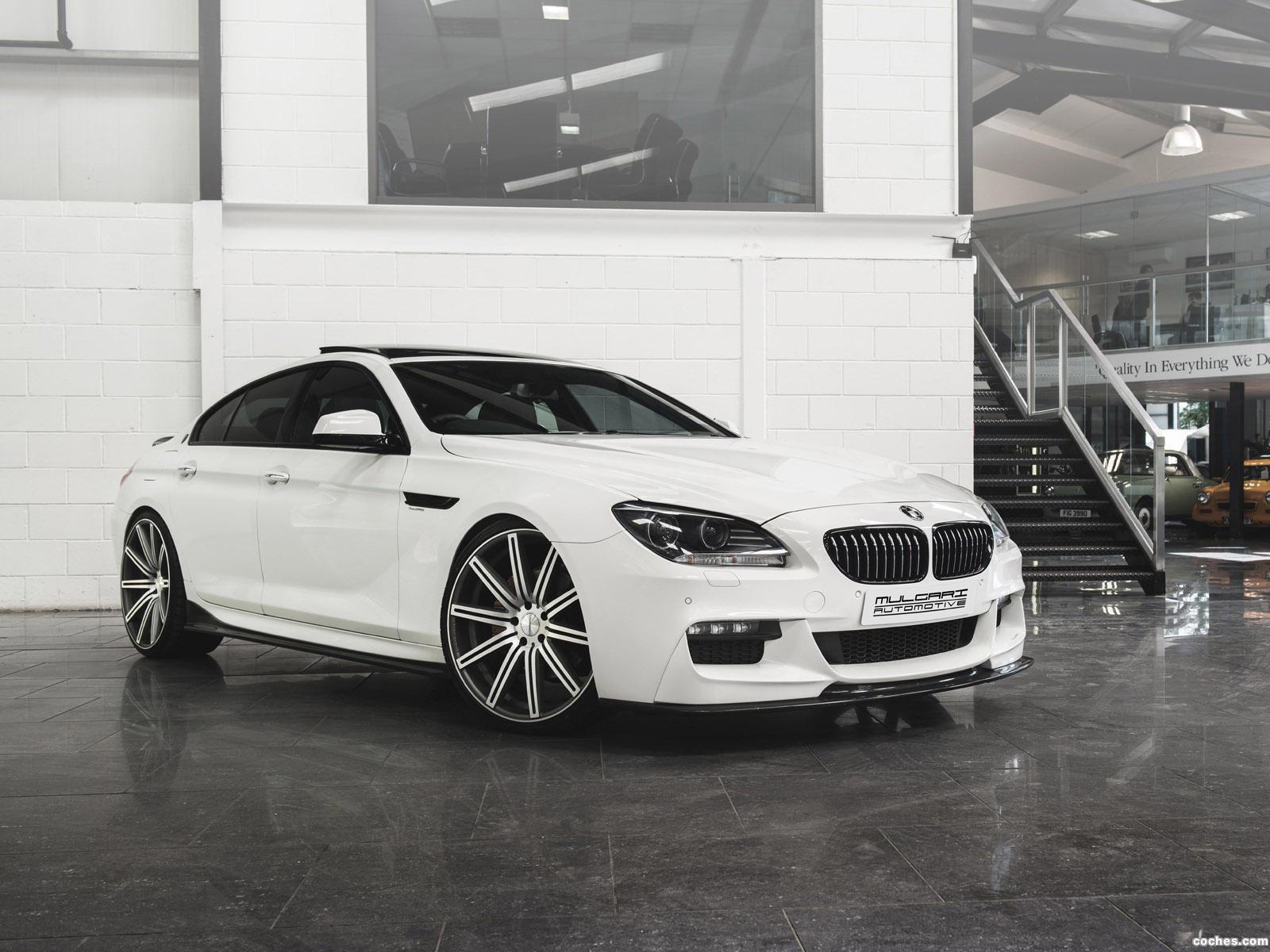 Foto 0 de BMW Serie 6 640d Gran Coupe Mulgari SV  2014