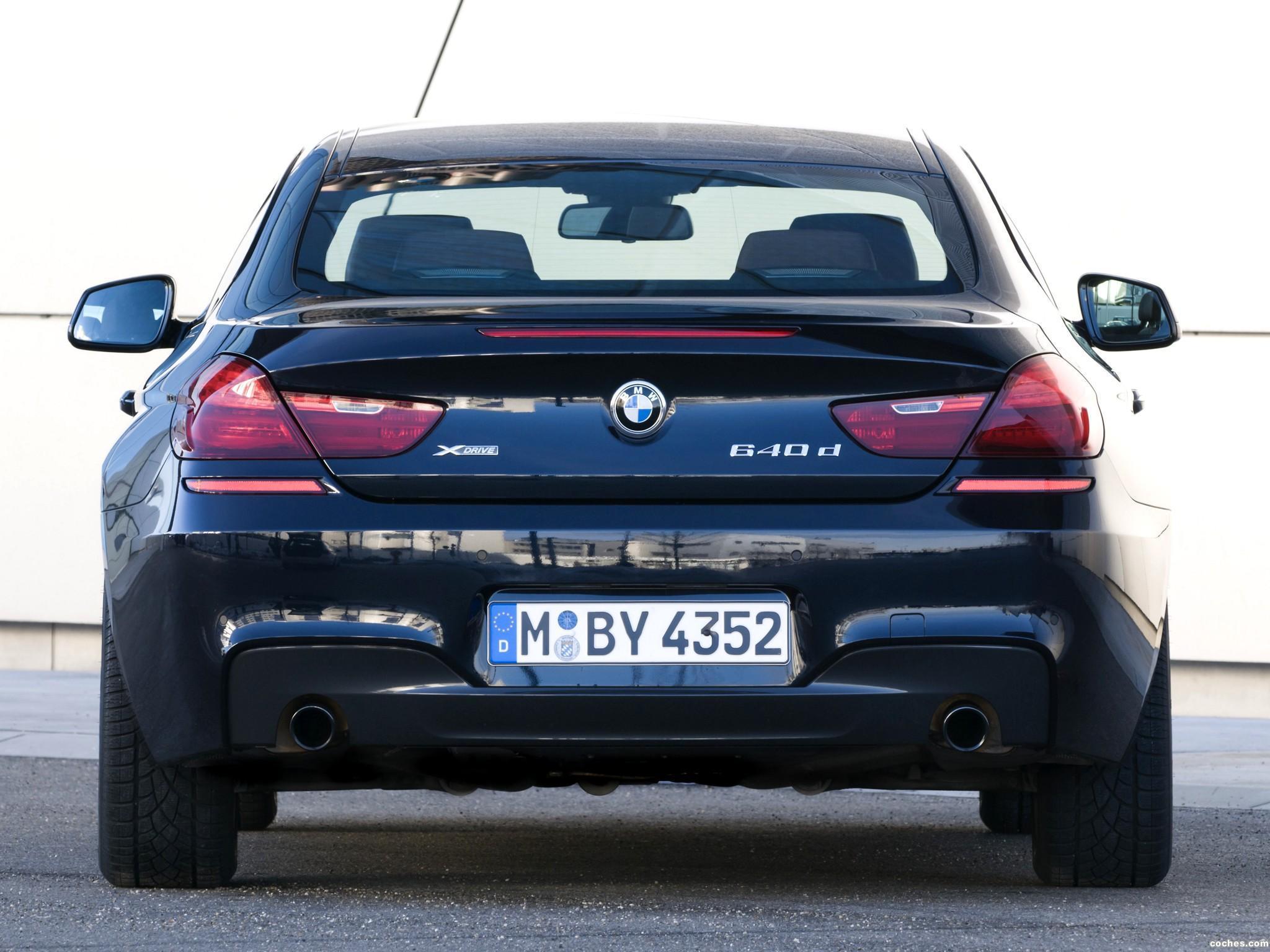 Foto 9 de BMW Serie 6 640d xDrive Coupe M Sport Package F12 2012